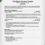 firefighter resume templates firefighter resume sample writing