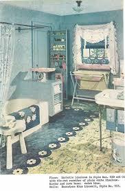 Retro Bathroom Flooring 1940s Retro Bathroom Decor 1940s Decor 32 Pages Of Designs And