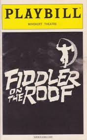 Fiddler On The Roof Synopsis by 51 Best Playbills Images On Pinterest Broadway Book Jacket And