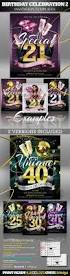 birthday invitation templates 2 u2013 club flyer style startupstacks com