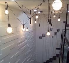vintage industrial nordic loft edison bulb chandelier retro