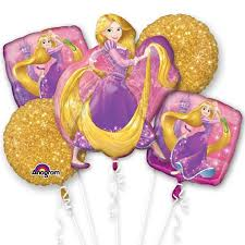 balloon bouquest disney rapunzel balloon bouquet delivered inflated in uk