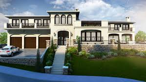 Residential Building Elevation Beautiful White Color Residential 3d Elevation Rendering Yantram