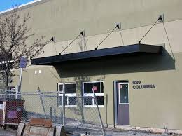 Awning Contractors Metal Awning Commercial Signage Portland Pike Awning Company