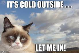 Cold Outside Meme - grumpy cat sky meme imgflip