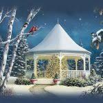 merry christmas u2013 animated background loop u2013 christmas card