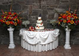 decorating home with flowers outstanding fall inspired wedding ceremony arrangement
