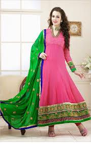 pink colour combination dresses different color anarkali dresses collection dressanarkali