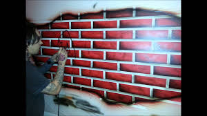 airbrushed graffiti wall mural by epic artworks youtube