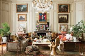 vintage home interior design 31 living room ideas from the homes of top designers photos