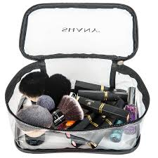 makeup travel bag images Slumber party cosmetics clear travel bag waterproof multi use jpg