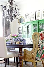 Chinoiserie Dining Room by Love The Pink China Cabinet Chinoiserie Chic Orange Chinoiserie