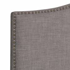 Macys Upholstered Headboards by Home Design Upholstered Headboards With Nailheads Tv Above