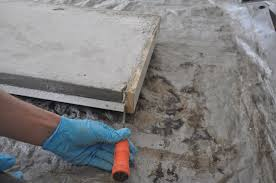 How To Pour Concrete Patio How To Build A Concrete Table For Beginners