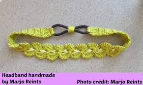 crochet bands my hobby is crochet thread headband free crochet pattern with
