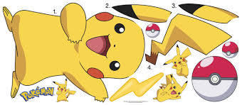room mates pokemon pikachu wall decal reviews wayfair default name