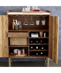 crate and barrel bar cabinet cantina bar cabinet crate and barrel pots and pans pinterest