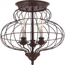 lamps semi flush mount lantern flush ceiling lights rustic