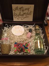 gifts to ask bridesmaids to be in wedding 16 best how to ask bridesmaids images on bridal gifts