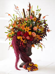 still life with fall making art from flowers and fruits hgtv