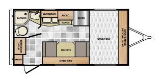 Minnie Winnie Floor Plans 2015 Winnebago Micro Minnie 1706fb Travel Trailer T541 Wheelen