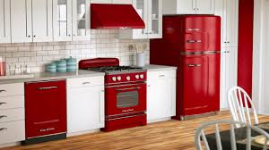 retro kitchen appliances interior design