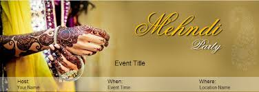 mehndi card wording mehendi party invitation wording yoovite