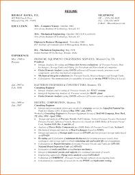 Entry Level Mechanical Engineering Resume Cover Letter Mechanical Engineering Sample Resume Mechanical