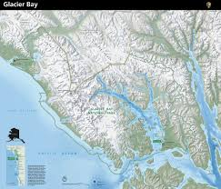 Map Of National Parks In Usa Glacier Bay National Park Map Glacier Bay Alaska Usa U2022 Mappery