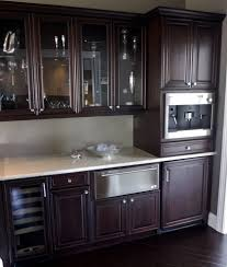 Kitchen Cabinet Bar Pulls Espresso Cabinets Kitchen Contemporary With Wood Trim Metal Bar Pulls