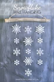 snowflake decorations 31 creative diy projects with snowflakes diy