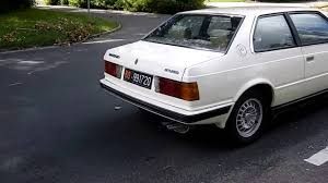 1985 maserati biturbo engine maserati biturbo coupe 2 331 1983 youtube