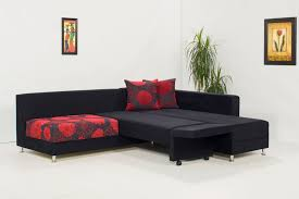 Black Microfiber Sectional Sofa Piano Black Microfiber Sectional Sofa By Kilim