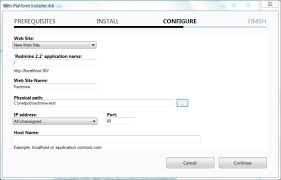 redmine hosting installing redmine on windows in production helicon tech