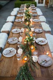 How To Decorate Dining Table Best 25 Dinner Party Table Ideas On Pinterest Dinner Party