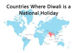 map of the week celebration of diwali ubique
