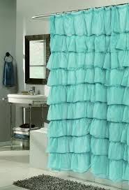 ruffle shower curtain u2013 fashionable interior detail interior