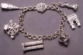 men charm bracelet images Fantastic mens charm bracelet circle stainless steel men leather jpg
