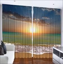 Sea Shell Curtains Living Room Wonderful Seashell Curtains Panels Beach Window