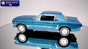 ford mustang coupe 1 2 1964 welly 1 24 youtube