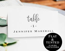 how to make table seating cards wedding place cards etsy