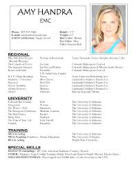 acting resume template simple acting resume template with photo song essay analysis
