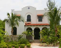 american house styles low pitch spanish colonial and stucco