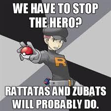 Zubat Meme - pokemon grunt meme by kimimaro100040 on deviantart