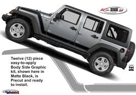 jeep wrangler graphics jeep wrangler advance side graphic kit 1
