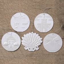 vosk the greatest gift paper ornament set dayspring