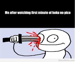 Boku No Pico Meme - otaku meme anime and cosplay memes i ve changed my mind