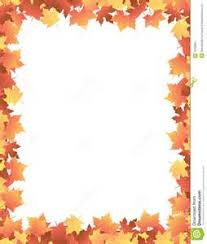 fall free printable paper borders images autumn leaves