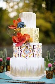 stunning wedding cake i like the flat tile like plate the