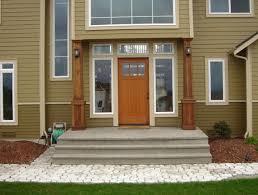 cedar front porch posts home design ideas